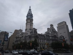 City hall - largest municipal building in the US