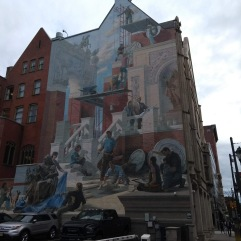Mural, three stories high