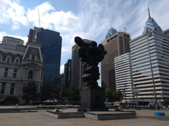 Philadelphia sculpture, Thomas Paine Plaza