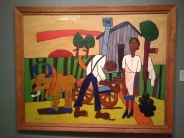 Farm Couple at Work, William Henry Johnson