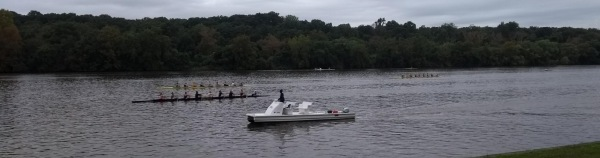 Rowing on the Delaware River
