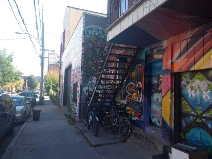 Street side art