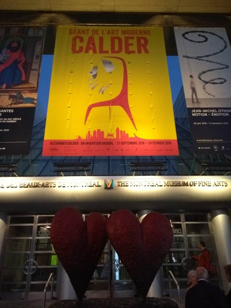 Calder exhibition poster