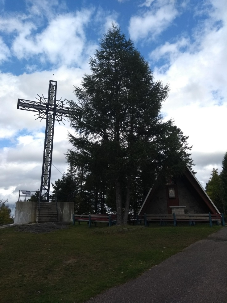 Cross and chapel