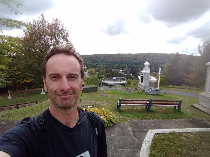 Selfie at the top