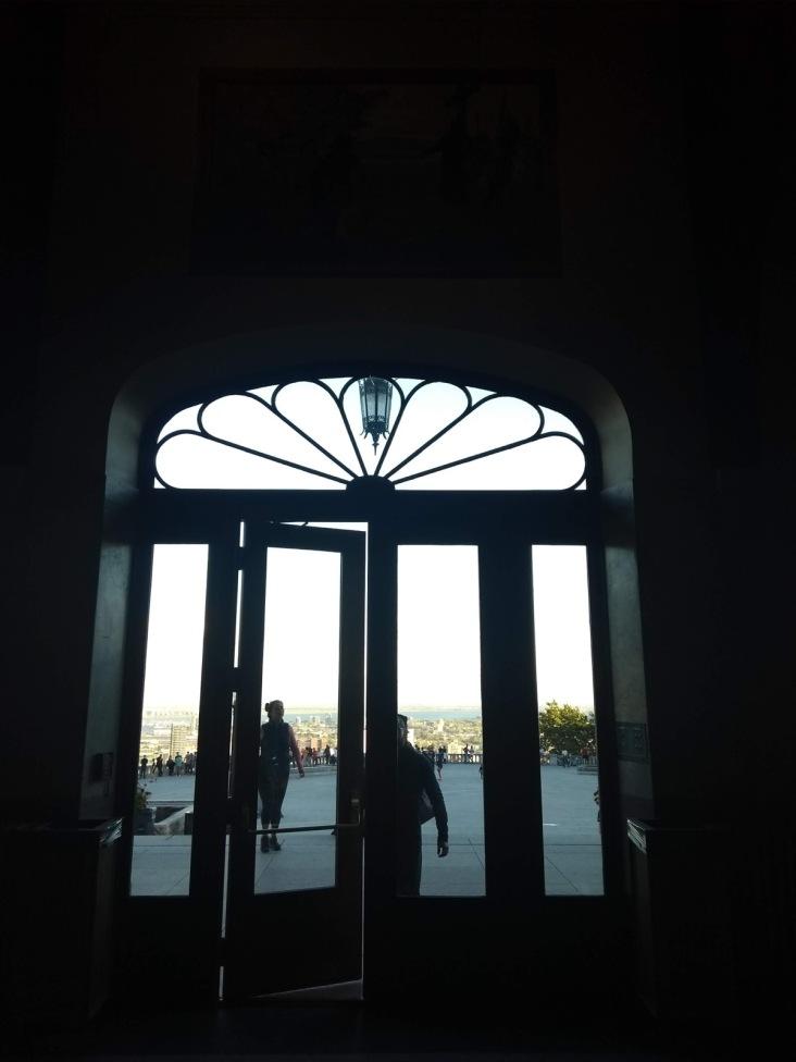 Chalet door view