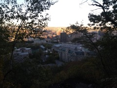 Partial view of Montreal
