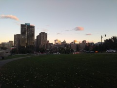 Ground view of Montreal