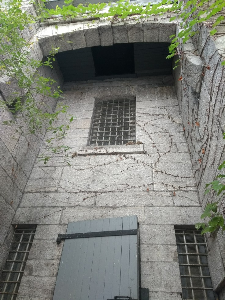 Jail entrance - trapdoor from the gallows above
