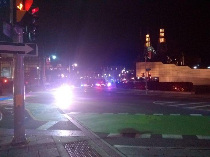 Police escort for ?