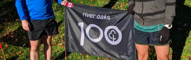 River Oaks parkrun flag