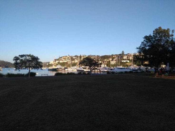 View towards Sailor's Bay