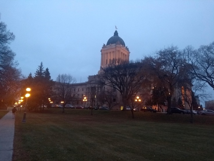 Manitoba State Legislative building