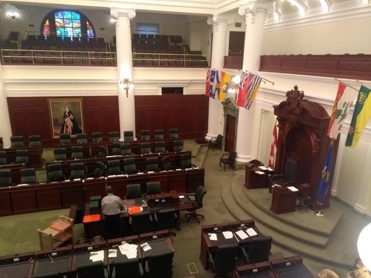 The main chamber