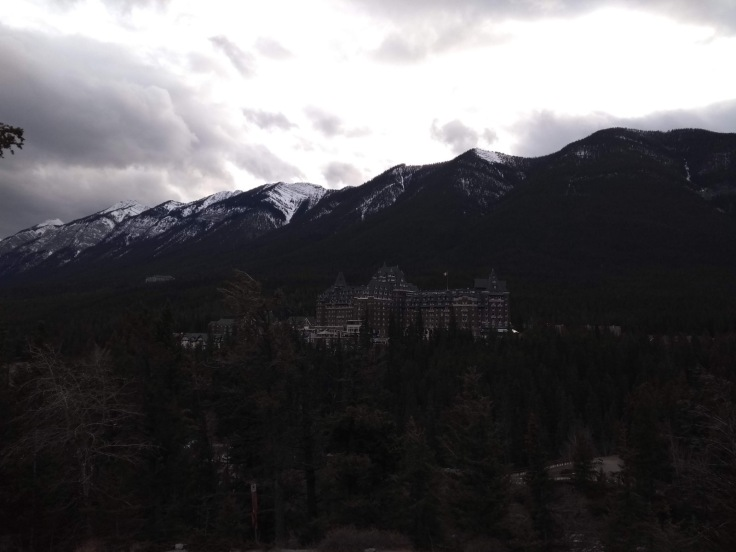 View of Fairmont Springs hotel