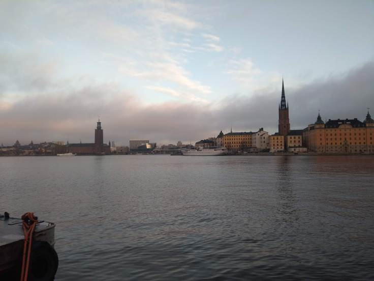 Stockholm City hall, from the water