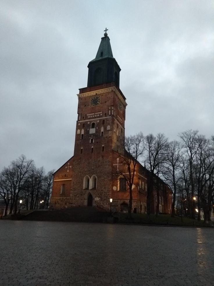 Turku in early morning light