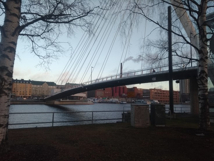Laukonsilta bridge, near the start/finish