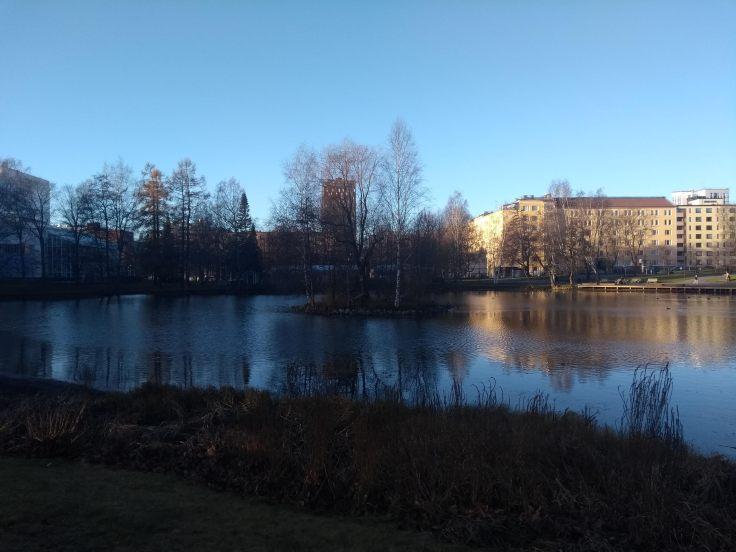 Sorsalampi lake, mid Tampere