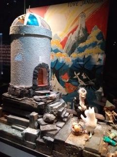 Observatory diorama