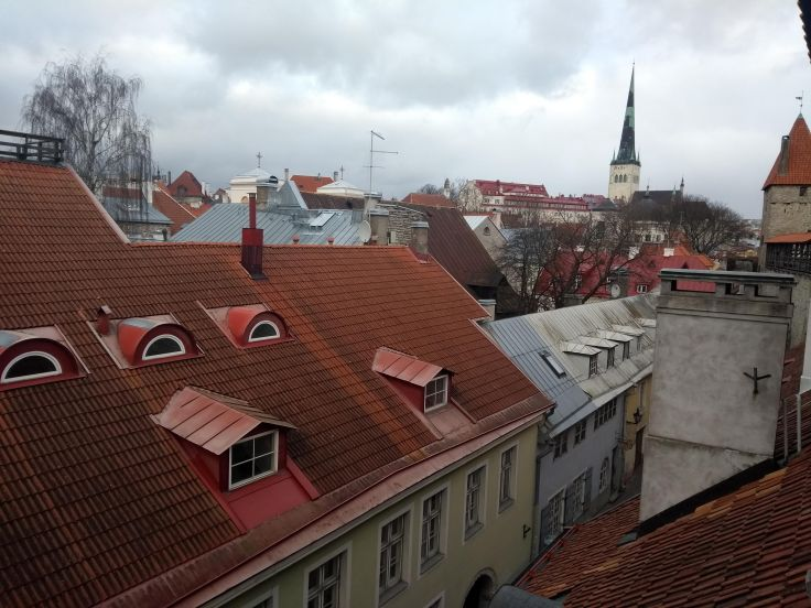 View from the old city wall