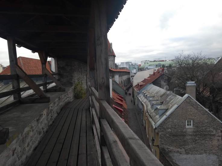 View from Hellemann Tower and old city wall