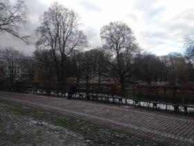 Park and Garden, centre of Riga