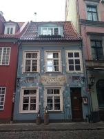 Riga scenic building