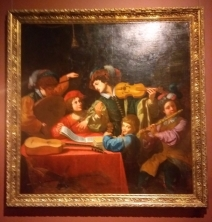 Painting: Ludovici concert, Italy, early 17th century