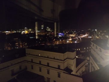 View from the observation tower, 6th floor
