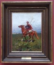 Cossack on horseback