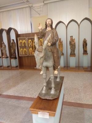 Christ on a donkey