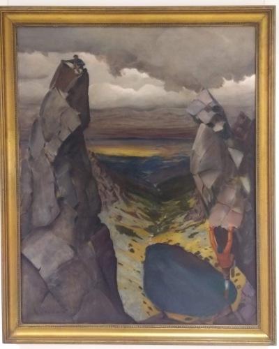 Modern Polish art, climbers