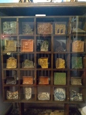 Stove tiles