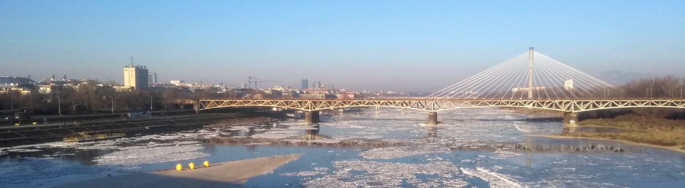 View over Vistula, Warsaw