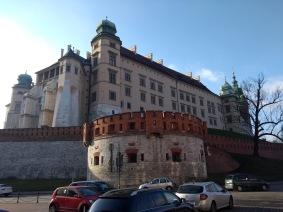 Wawel Castle, NE corner