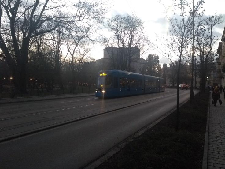 Krakow streetcar