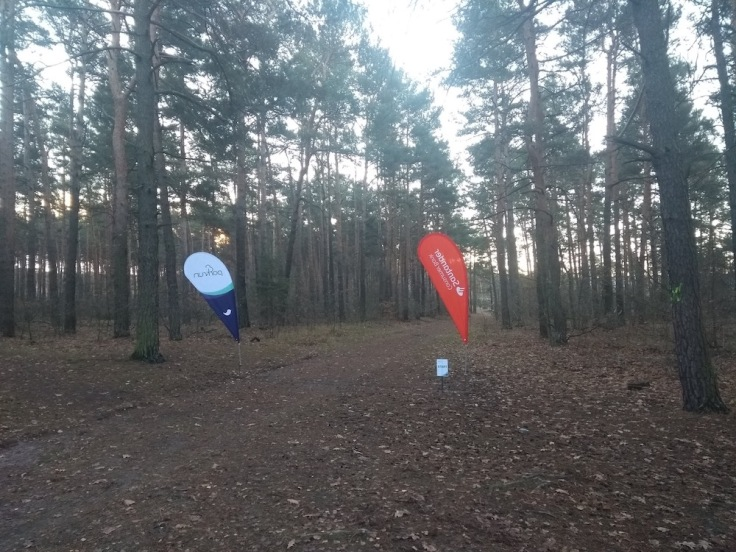 Zielona Gora parkrun start line