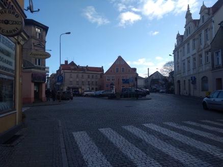Zielona Gora town centre