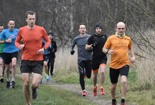 Jersey Farm parkrun, on the route