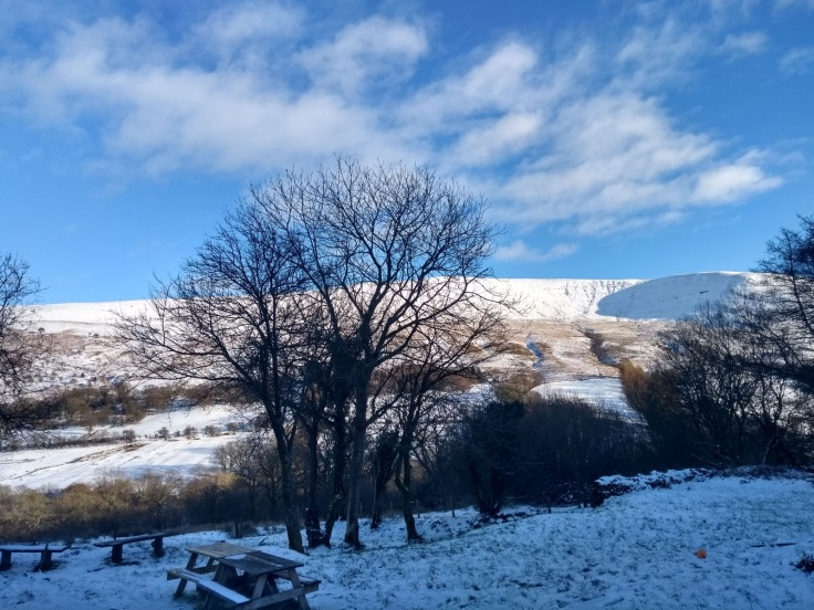 View from Brecon Beacons YHA