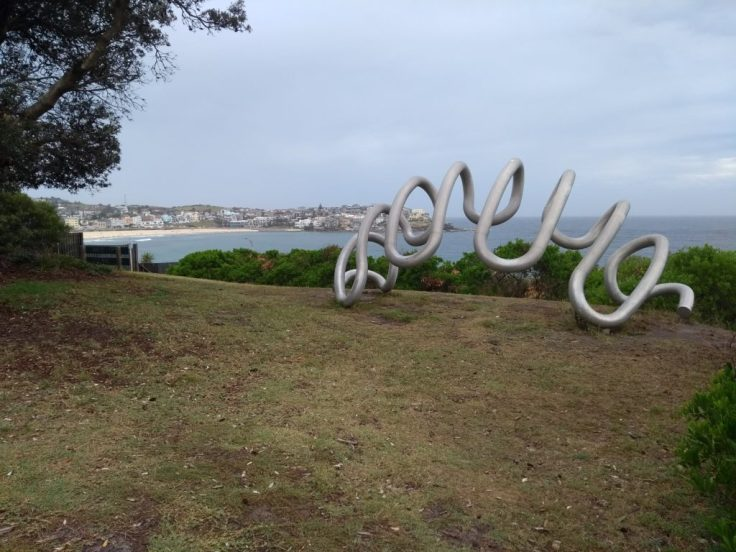 Bondi, seen from the sculpture park.