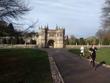 Lanhydrock house, backdrop for the final section
