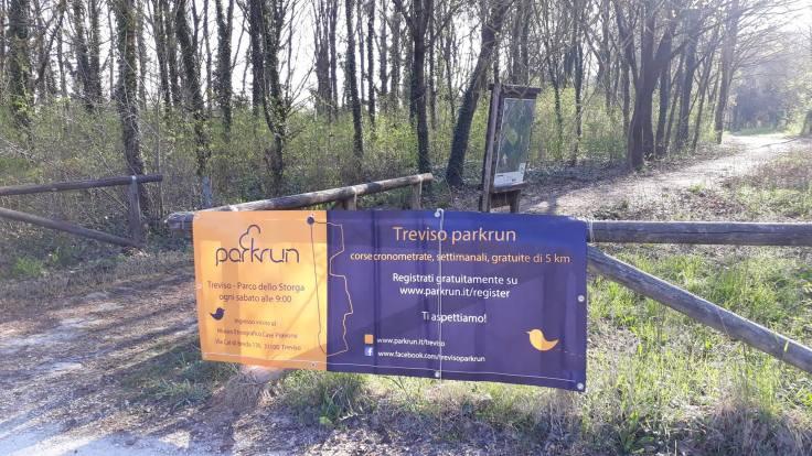 Treviso parkrun banner
