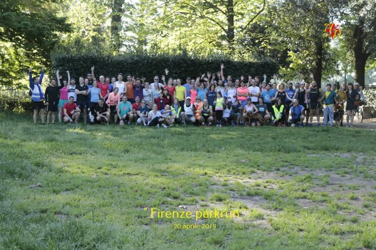 Firenze parkrun group photo