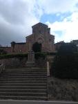 Stairs climb to the church, Barberino