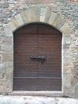 Medieval studded door, Barberino