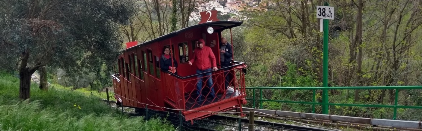 Funicular railway carriage