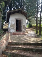 Small shrine, North of San Miniato