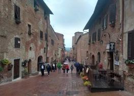 Via Boccaccio has restaurants and gelato shops